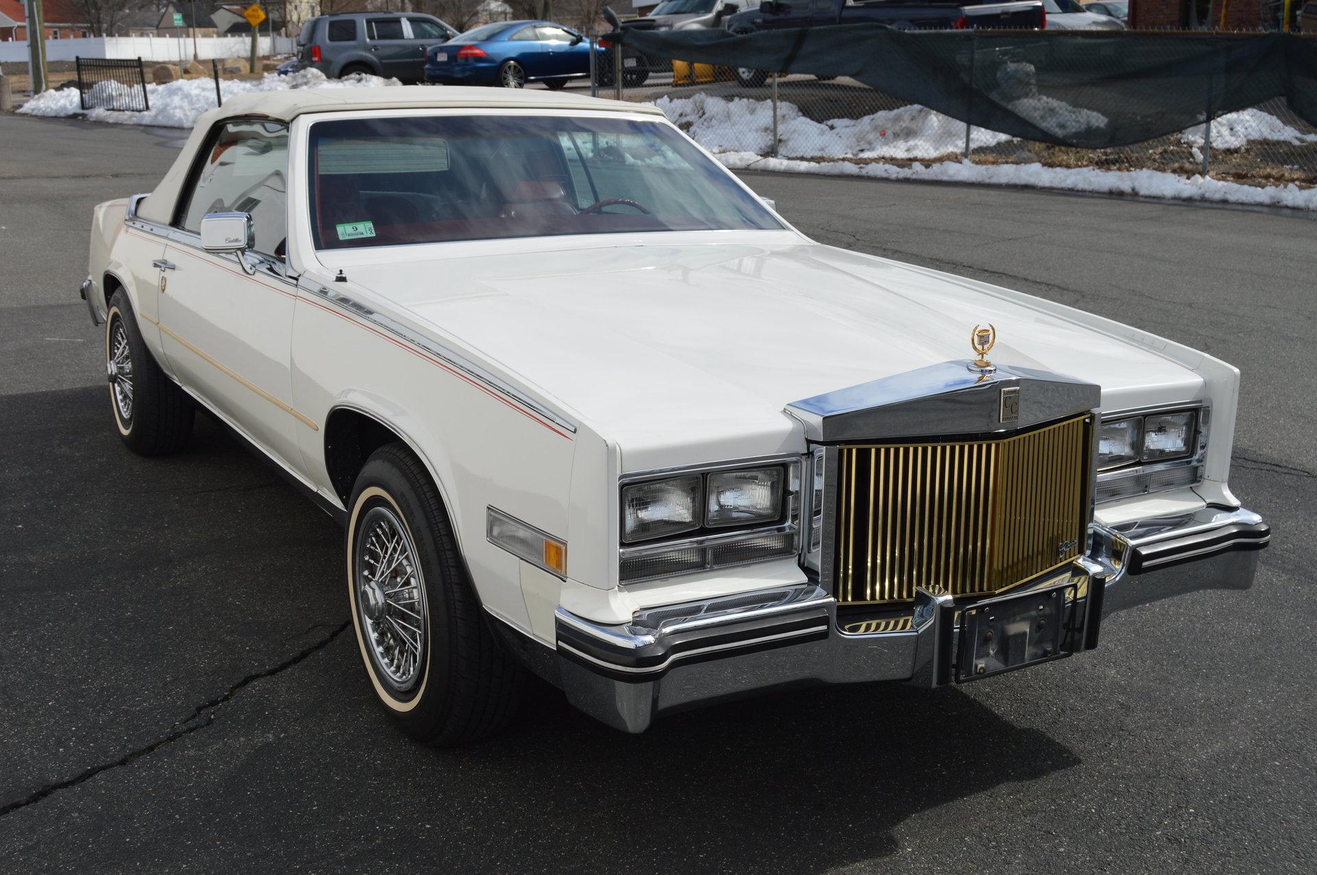 1985 Cadillac Eldorado Biarritz Convertible For Sale 84112 Mcg