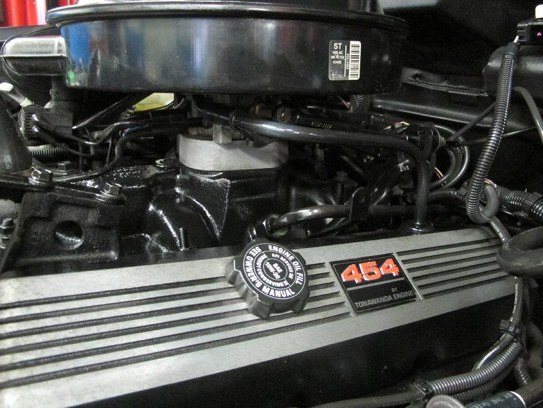 Chevrolet 454 ss motor