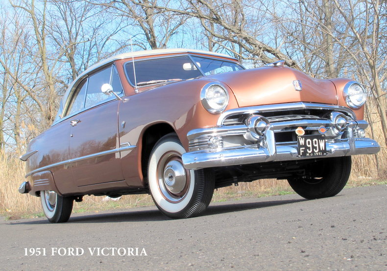1951 Ford Victoria