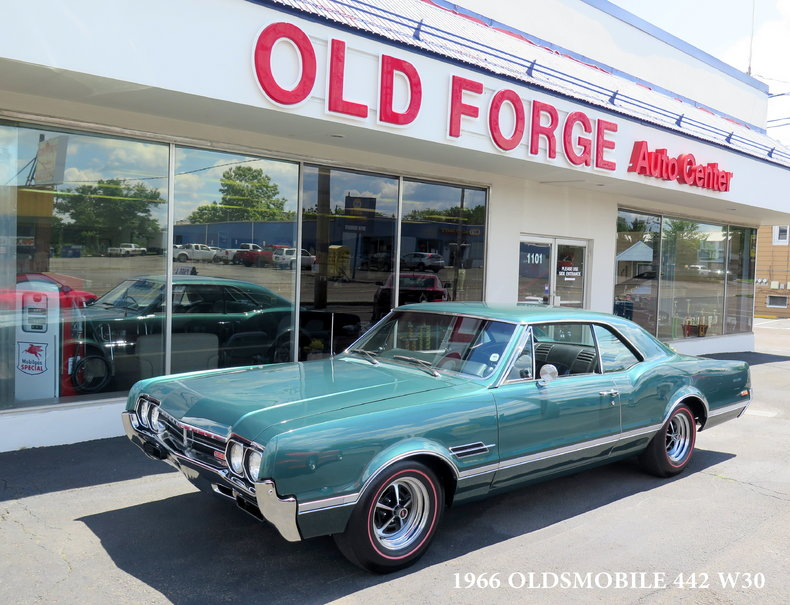1966 Oldsmobile Cutlass 442 W30