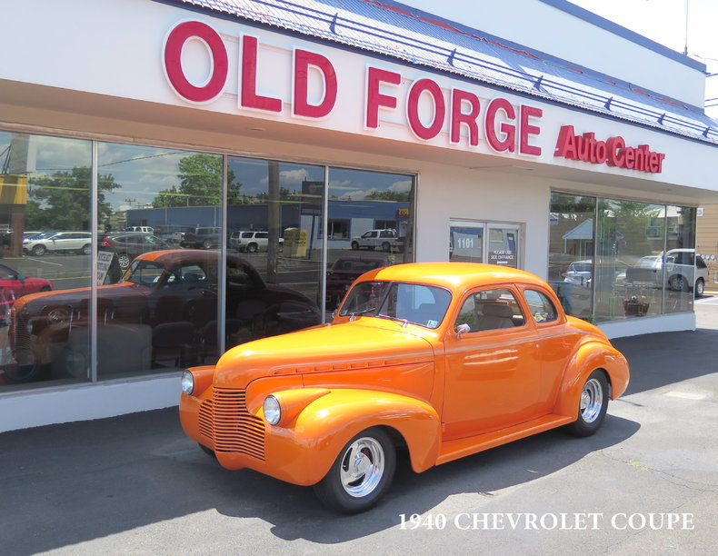 1940 Chevrolet 5-Window Coupe