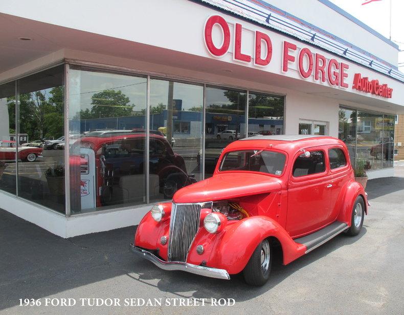 1936 Ford Tudor Street Rod