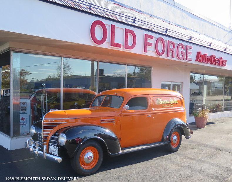 1939 Plymouth Sedan Delivery