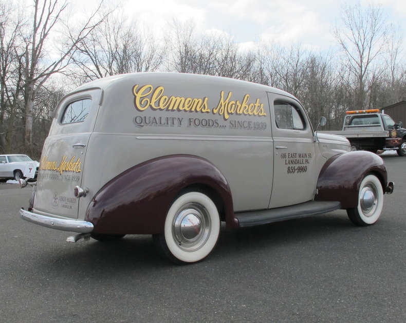 1940 Ford Sedan Delivery | OLD FORGE MOTORCARS INC.