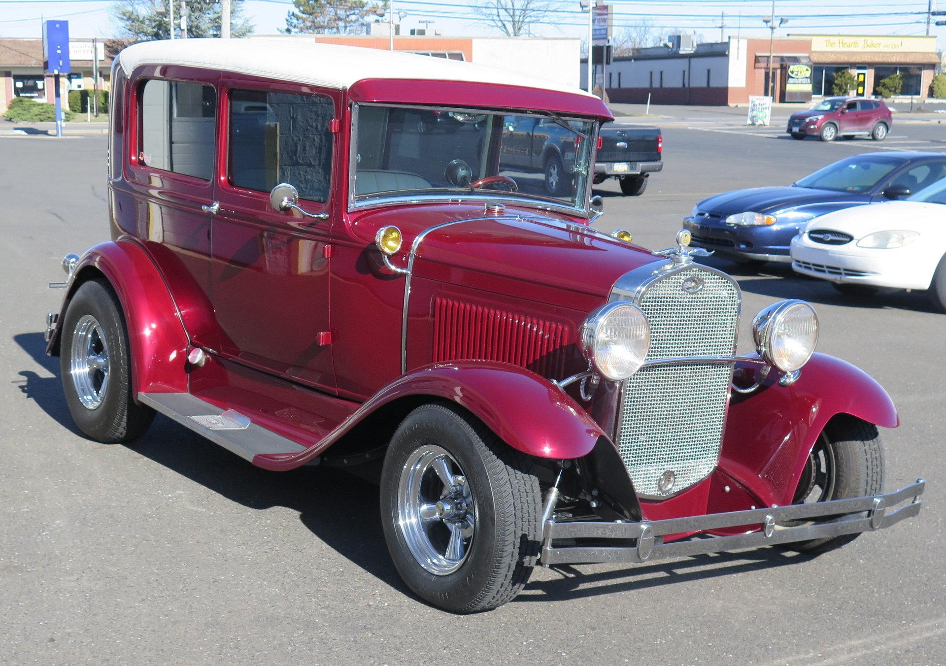1930 ford model a tudor hot rod old forge motorcars inc. Black Bedroom Furniture Sets. Home Design Ideas