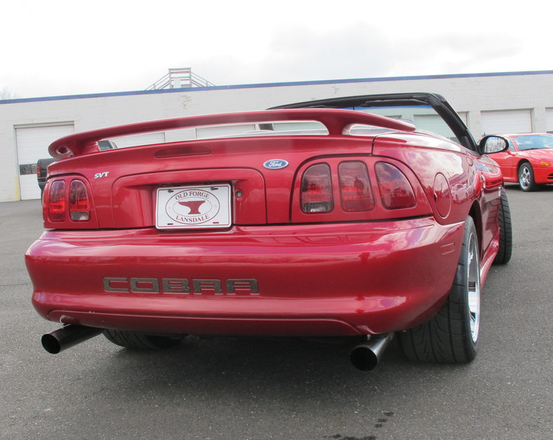1996 ford mustang svt cobra for sale 83624 mcg. Black Bedroom Furniture Sets. Home Design Ideas