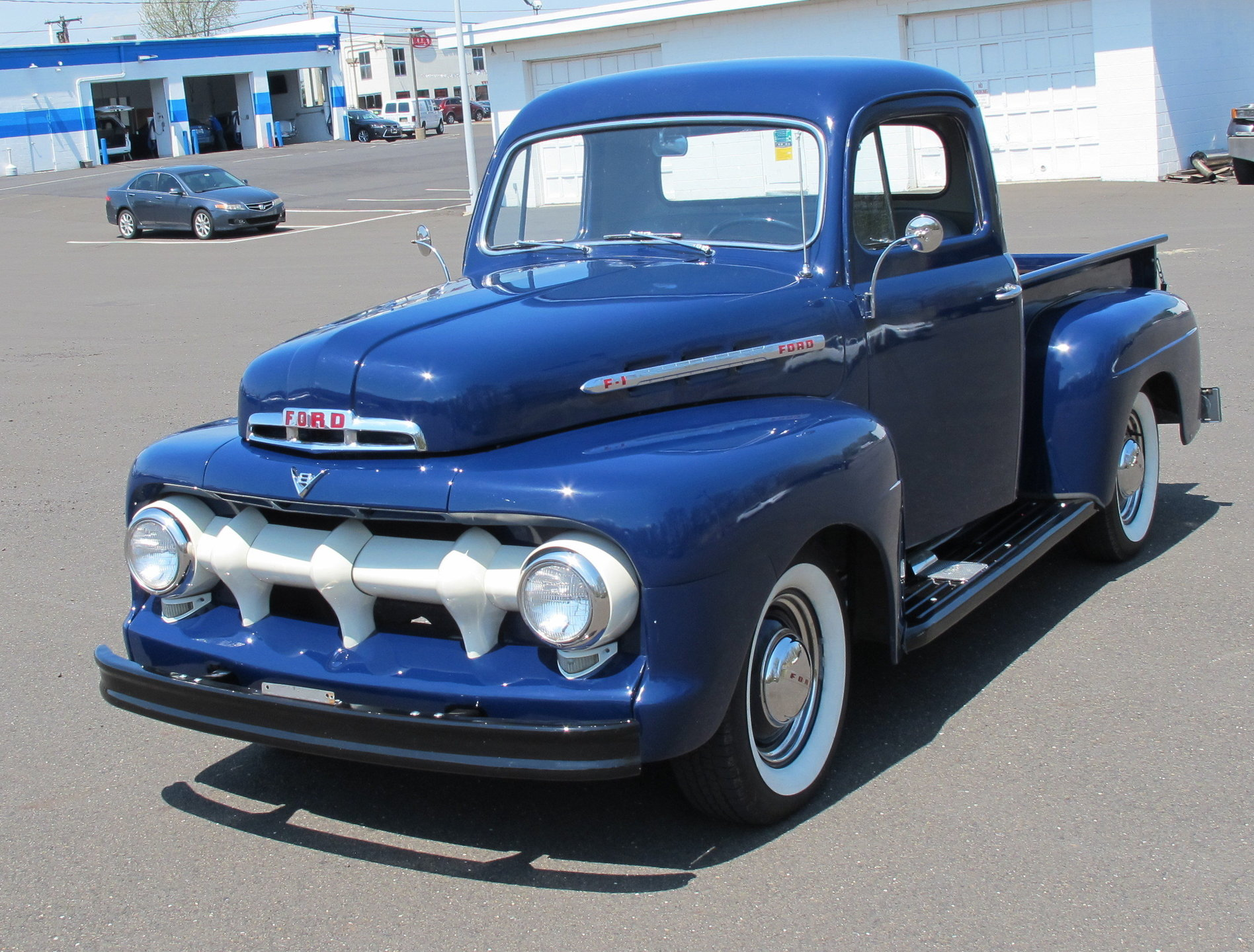 1951 Ford F1 For Sale 88901 Mcg 52 Pick Up