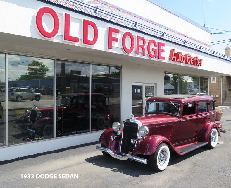 1933 Dodge Four Door Sedan