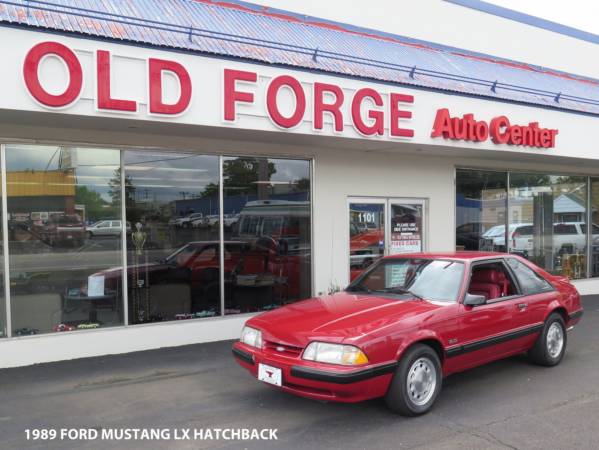 24225573465cc hd 1989 ford mustang lx