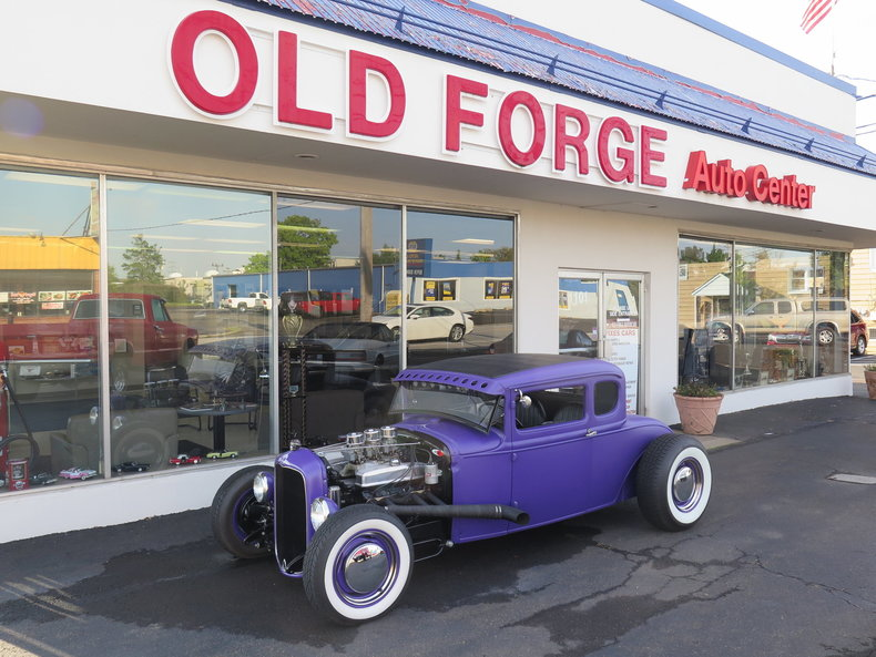 1930 Ford model a 5 window coupe