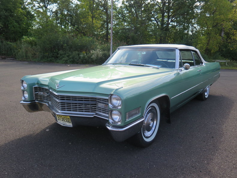 1966 Cadillac Coupe DeVille Convertible