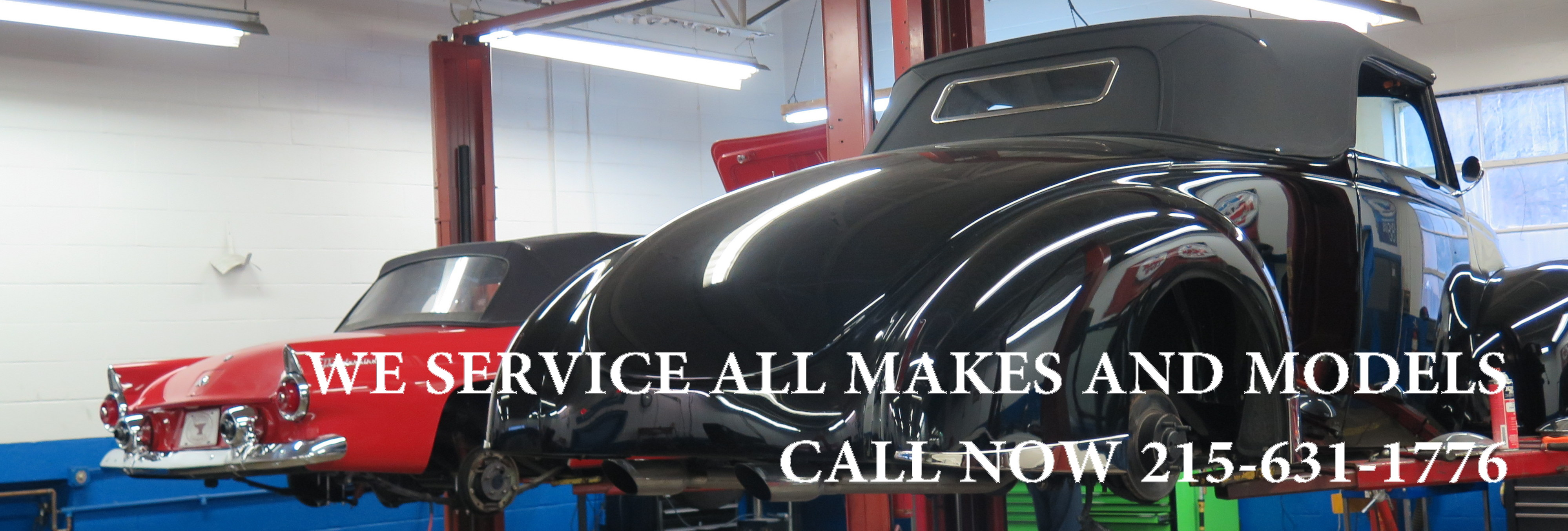 Service | OLD FORGE MOTORCARS INC