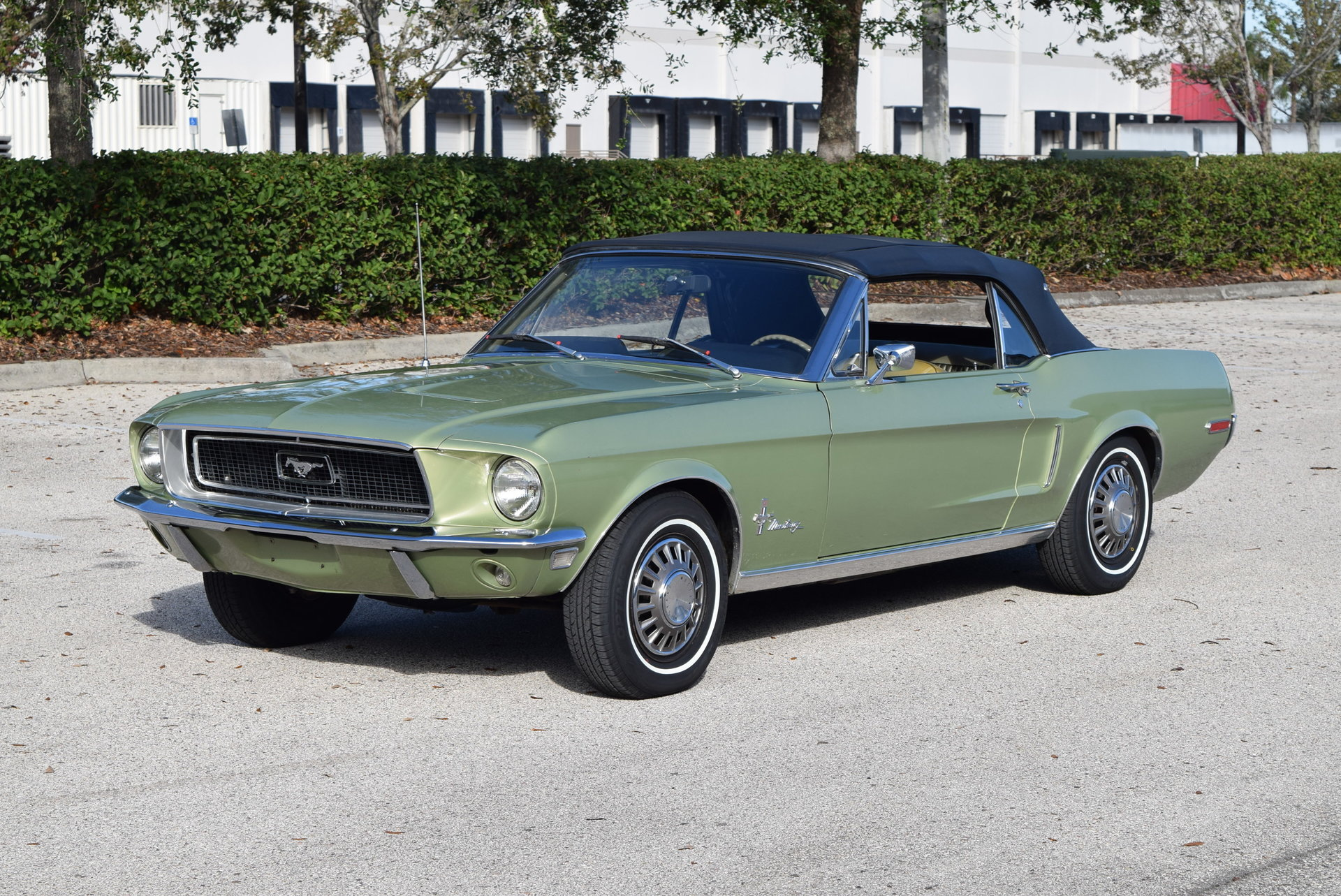 1968 ford mustang for sale 92867 mcg. Black Bedroom Furniture Sets. Home Design Ideas