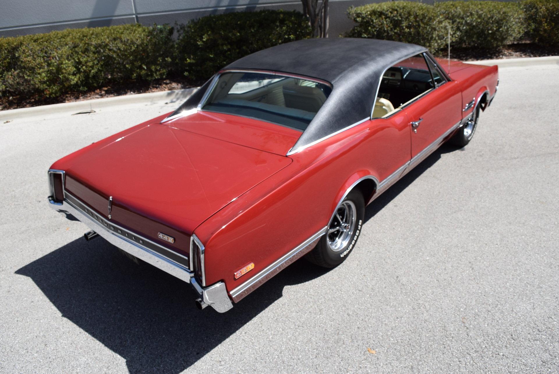 1966 Oldsmobile 442 Tri Power For Sale 80489 Mcg