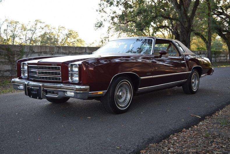 1976 Chevrolet Monte Carlo Orlando Classic Cars