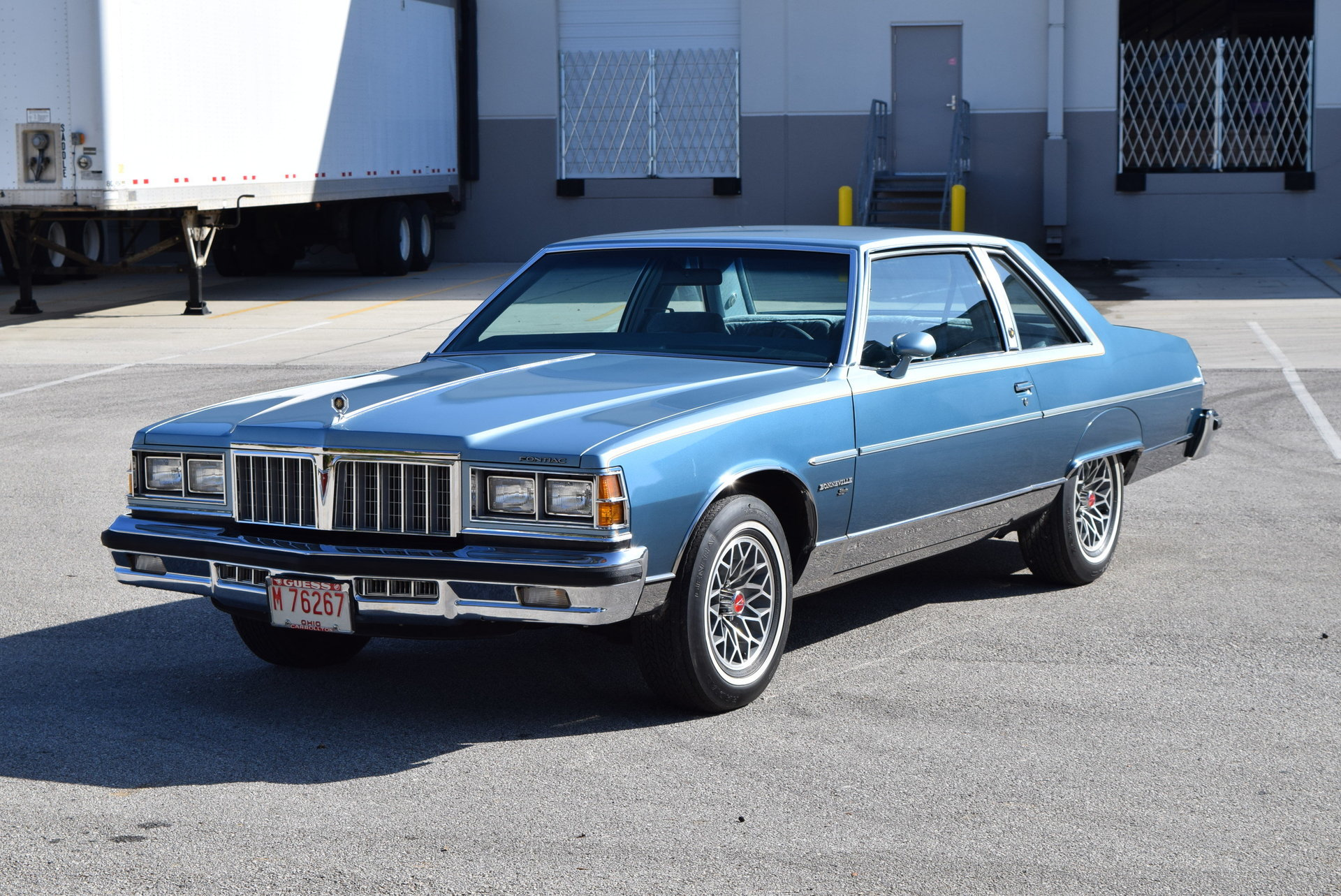 1978 pontiac bonneville brougham for sale 80500 mcg. Black Bedroom Furniture Sets. Home Design Ideas