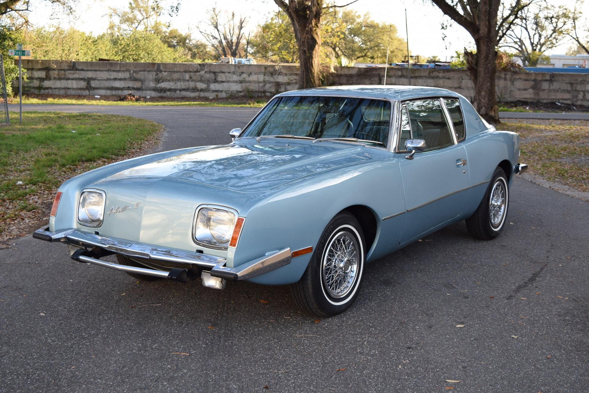 1978 Avanti Avanti II