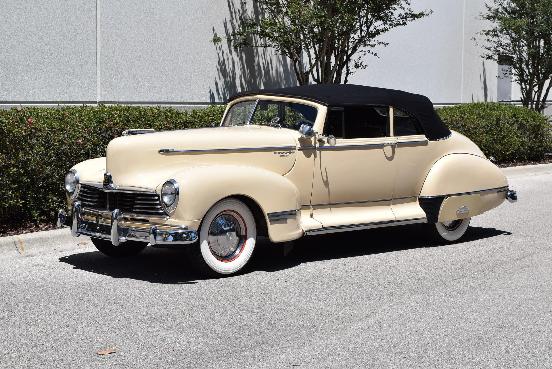 1946 Hudson Convertible Super Six