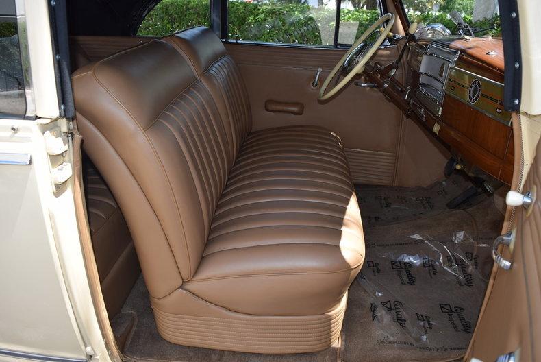 For Sale 1946 Hudson Convertible Super Six