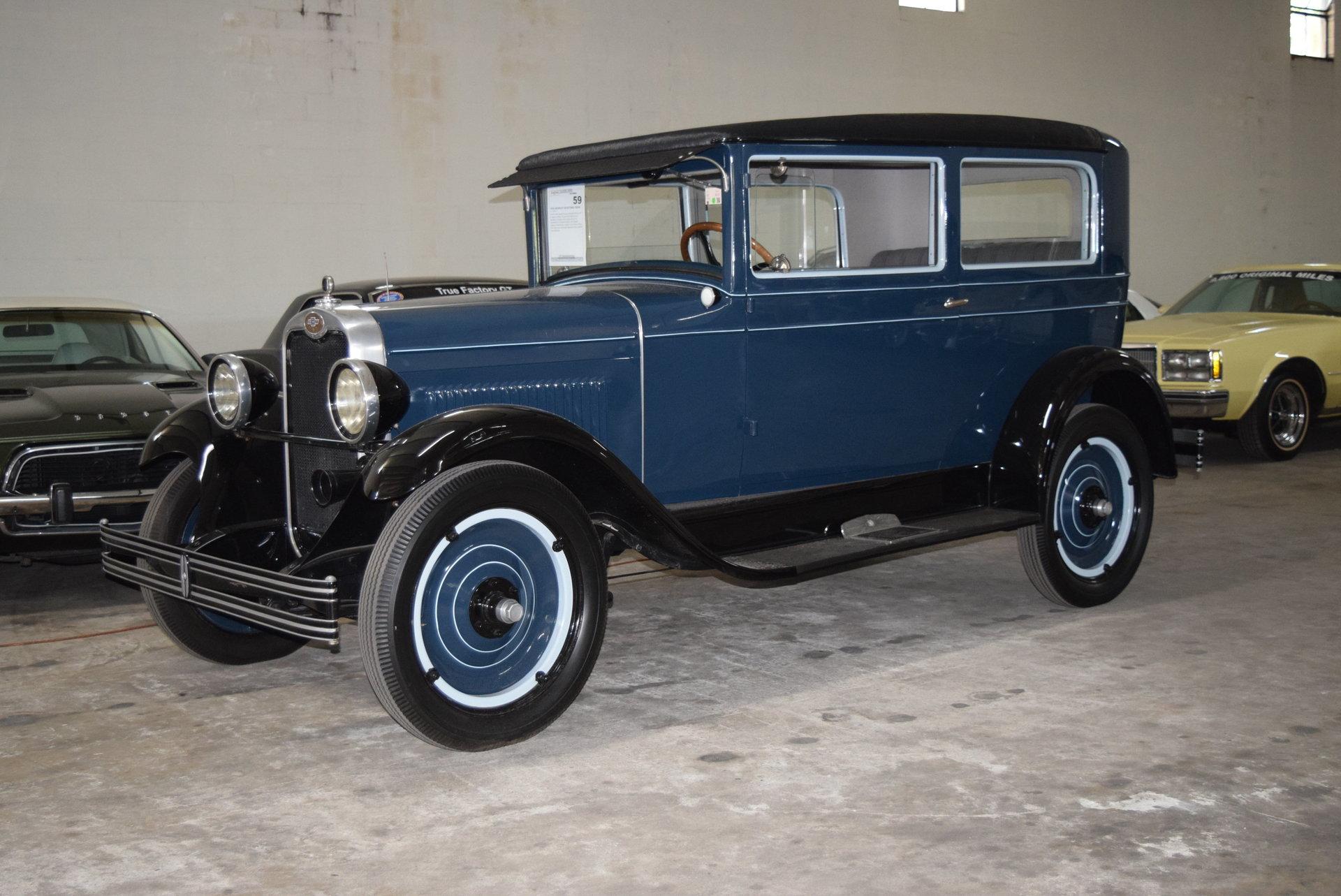 1928 Chevrolet AB 2 dr Sedan