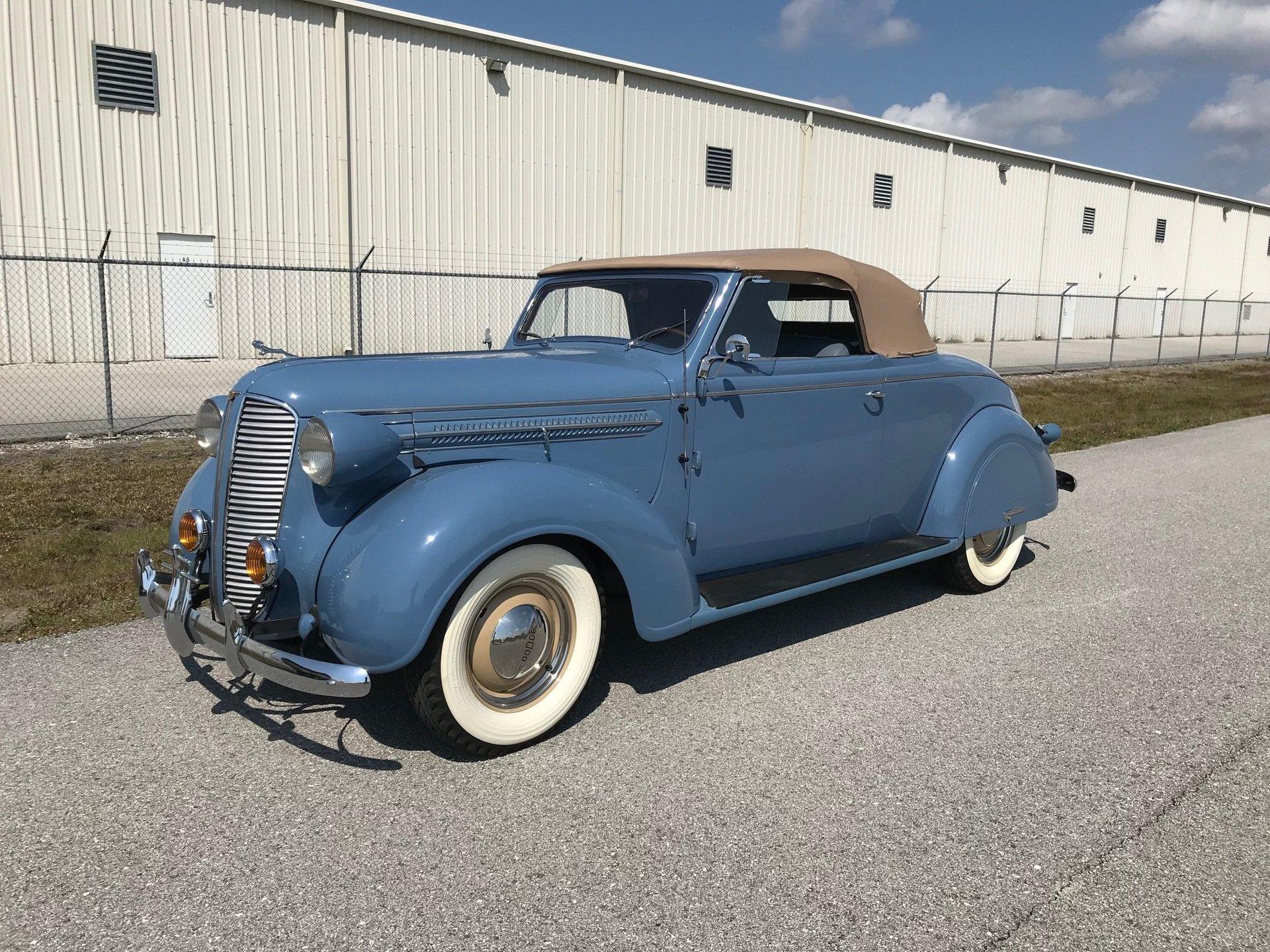1937 Dodge Deluxe Convertible