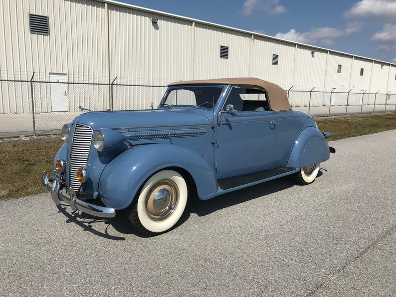 For Sale 1937 Dodge Deluxe Convertible