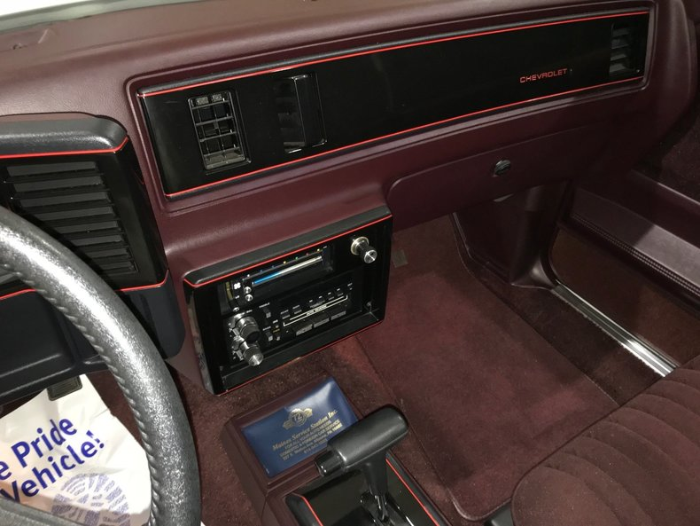 1987 Chevrolet Monte Carlo Ss For Sale 87936 Mcg