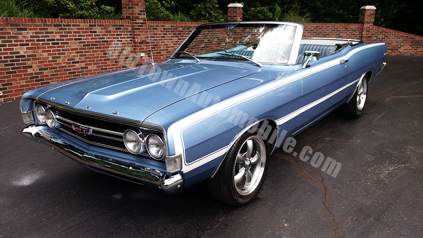 1968 ford torino gt convertible for sale 91012 mcg. Black Bedroom Furniture Sets. Home Design Ideas