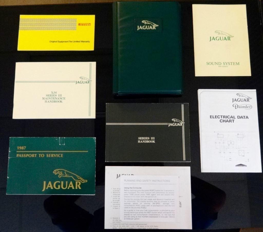 1987 Jaguar Xj6 Series Iii For Sale 94788 Mcg Wiring Diagram