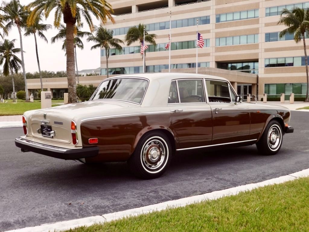1980 rolls royce silver shadow ii for sale 94799 mcg. Black Bedroom Furniture Sets. Home Design Ideas