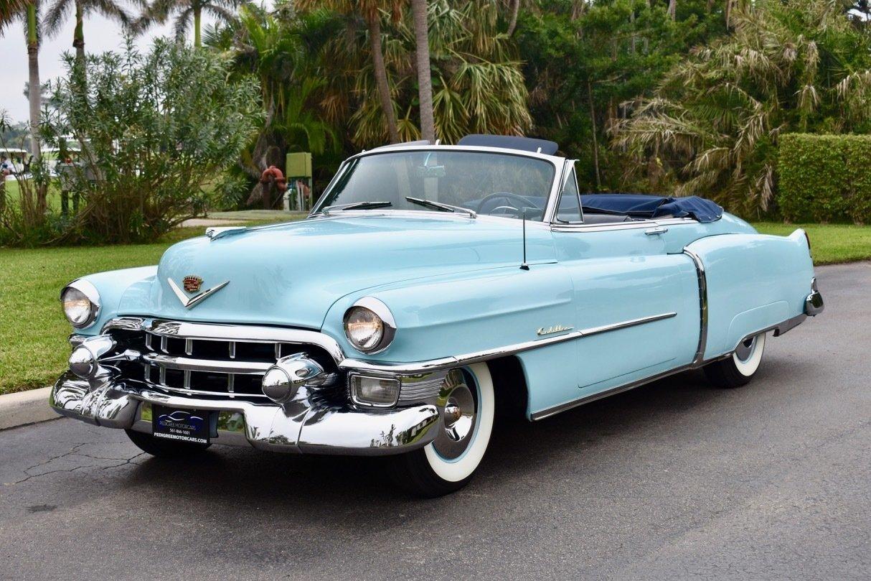 1953 Cadillac Series 62 Pedigree Motorcars 50s V8 Engine