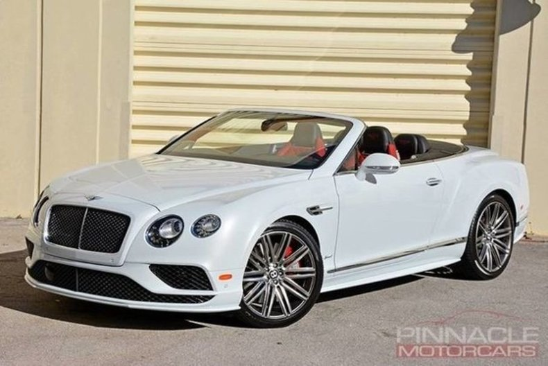2016 Bentley Continental GT Speed Convertiable Speed for sale #81604 ...