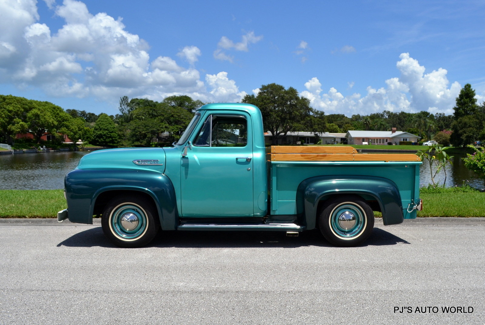 1954 Ford F100 Pjs Auto World Classic Cars For Sale Pick