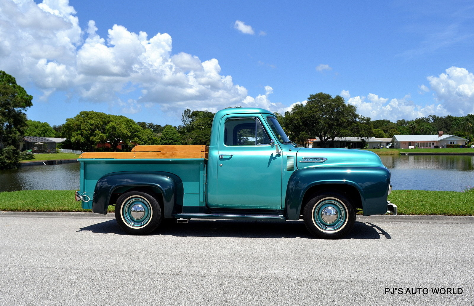 1954 Ford F100 Pjs Auto World Classic Cars For Sale Pick Up