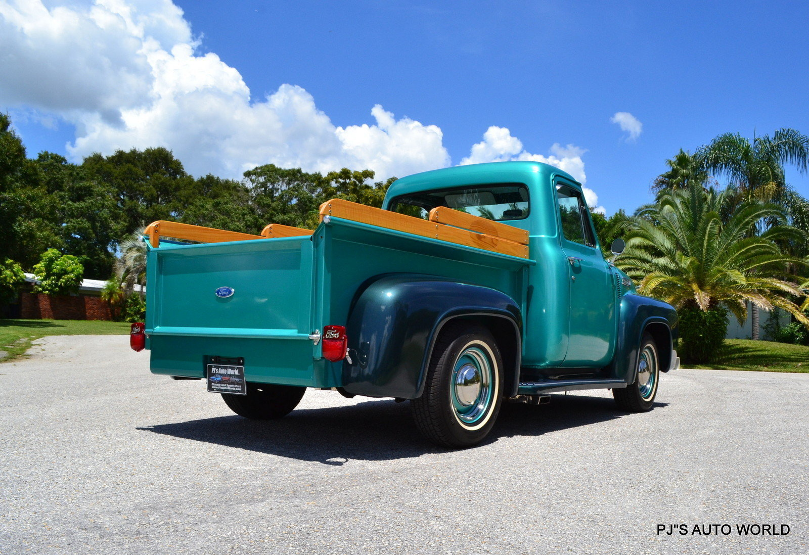 1954 Ford F100 Pjs Auto World Classic Cars For Sale Long Bed
