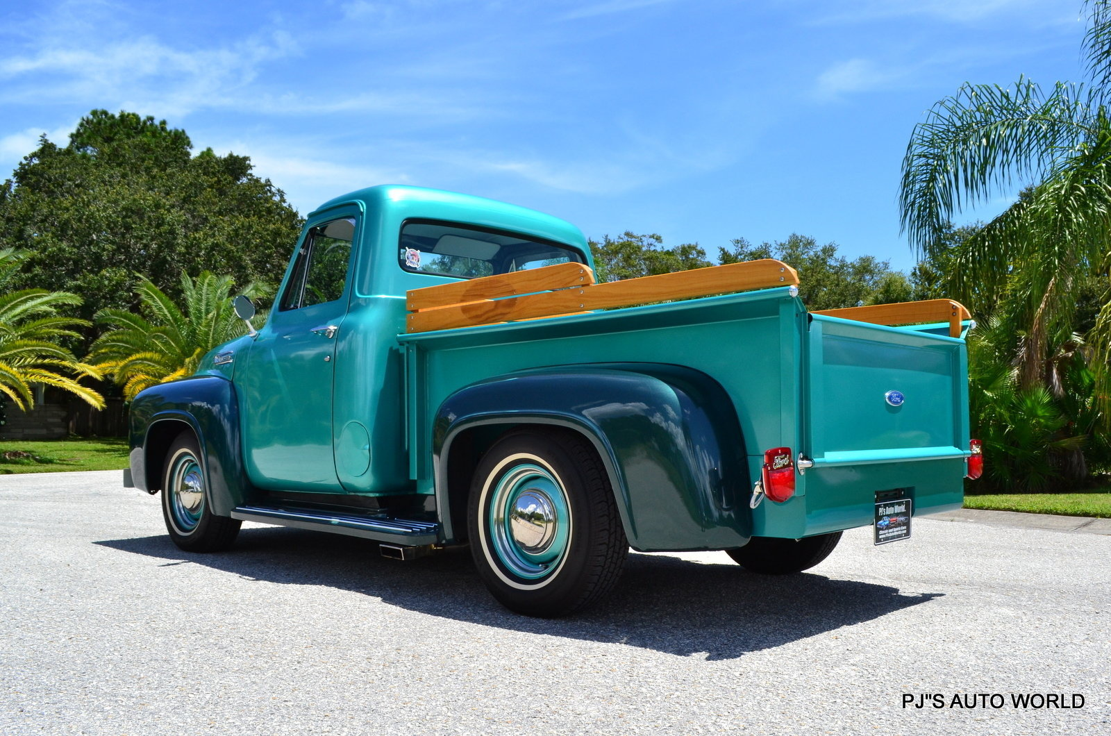 1954 Ford F100 Pjs Auto World Classic Cars For Sale Custom
