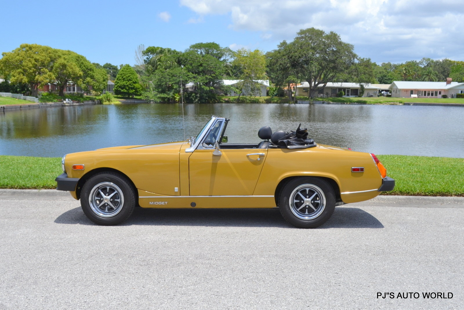 Specifications for 1978 mg midget