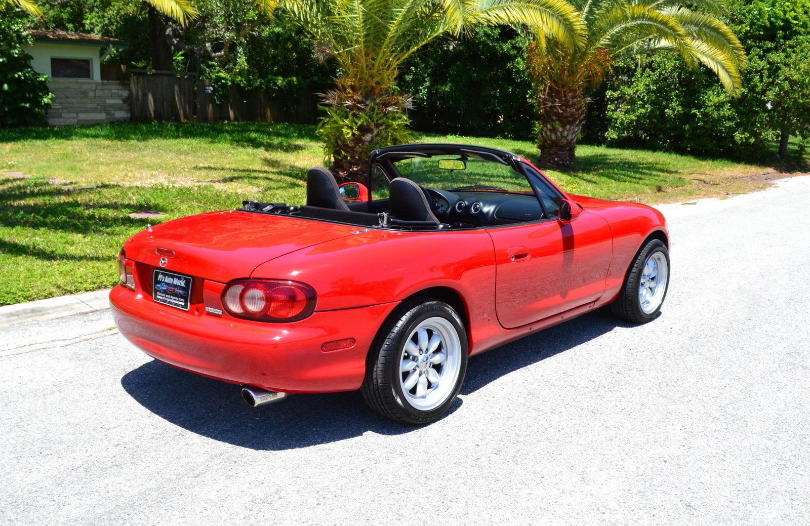 2002 mazda mx 5 miata pj 39 s auto world classic cars for sale. Black Bedroom Furniture Sets. Home Design Ideas