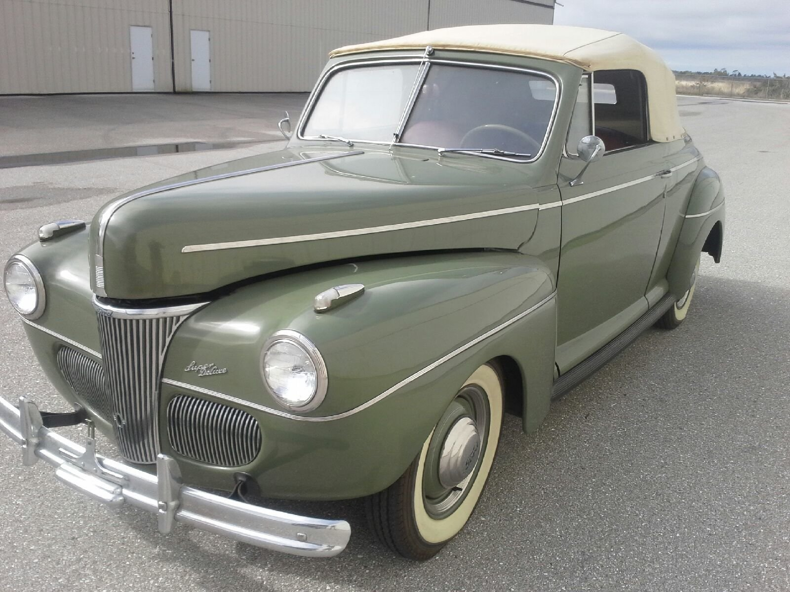 12229911f065b hd 1941 ford super deluxe convertible