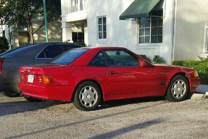 123780949fd78 hd 1986 mercedes benz 500 sl convertible