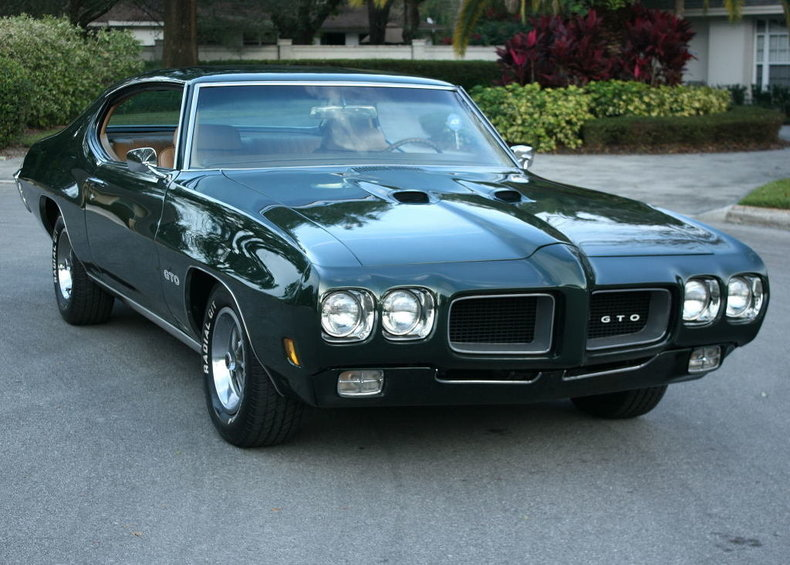 1970 Pontiac Gto Premier Auction