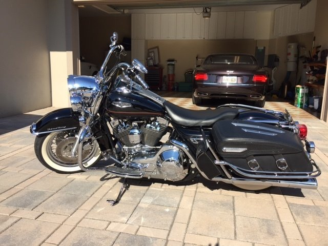 1999 Harley Davidson Road King Classic Premier Auction