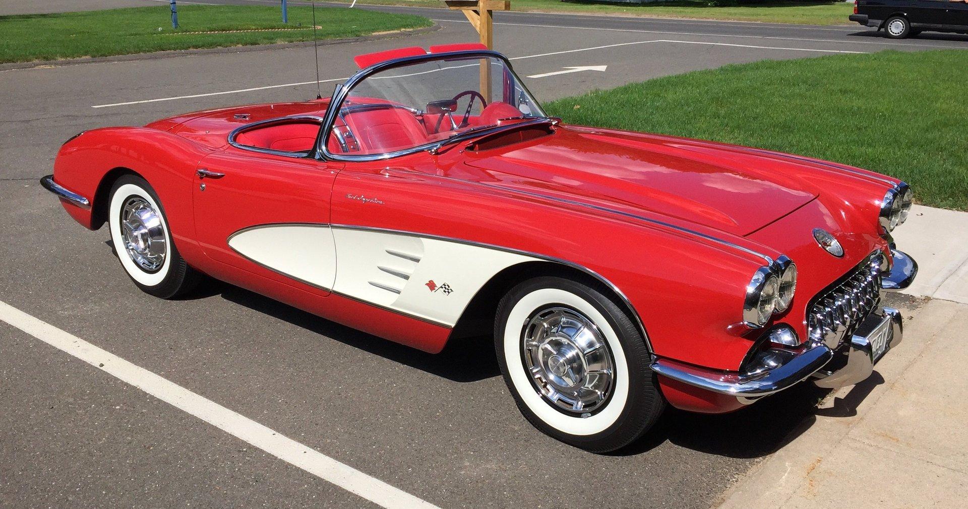 225507e65b916 hd 1959 chevrolet corvette fuelie top flight convertible