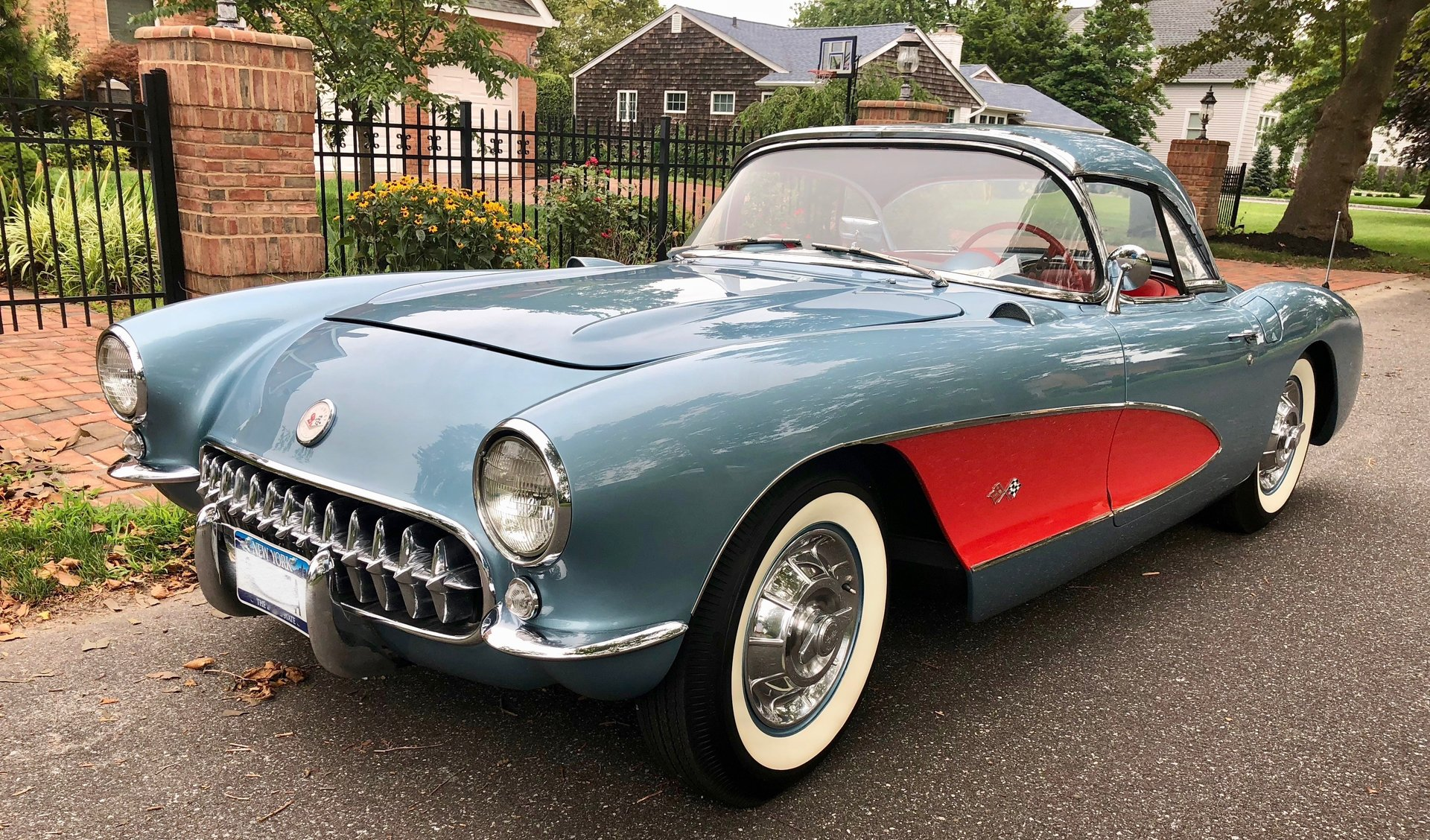 22560a587f004 hd 1957 chevrolet corvette convertible