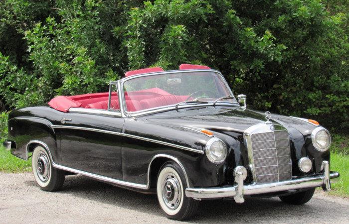 237849819d893 hd 1960 mercedes benz 220se cabriolet