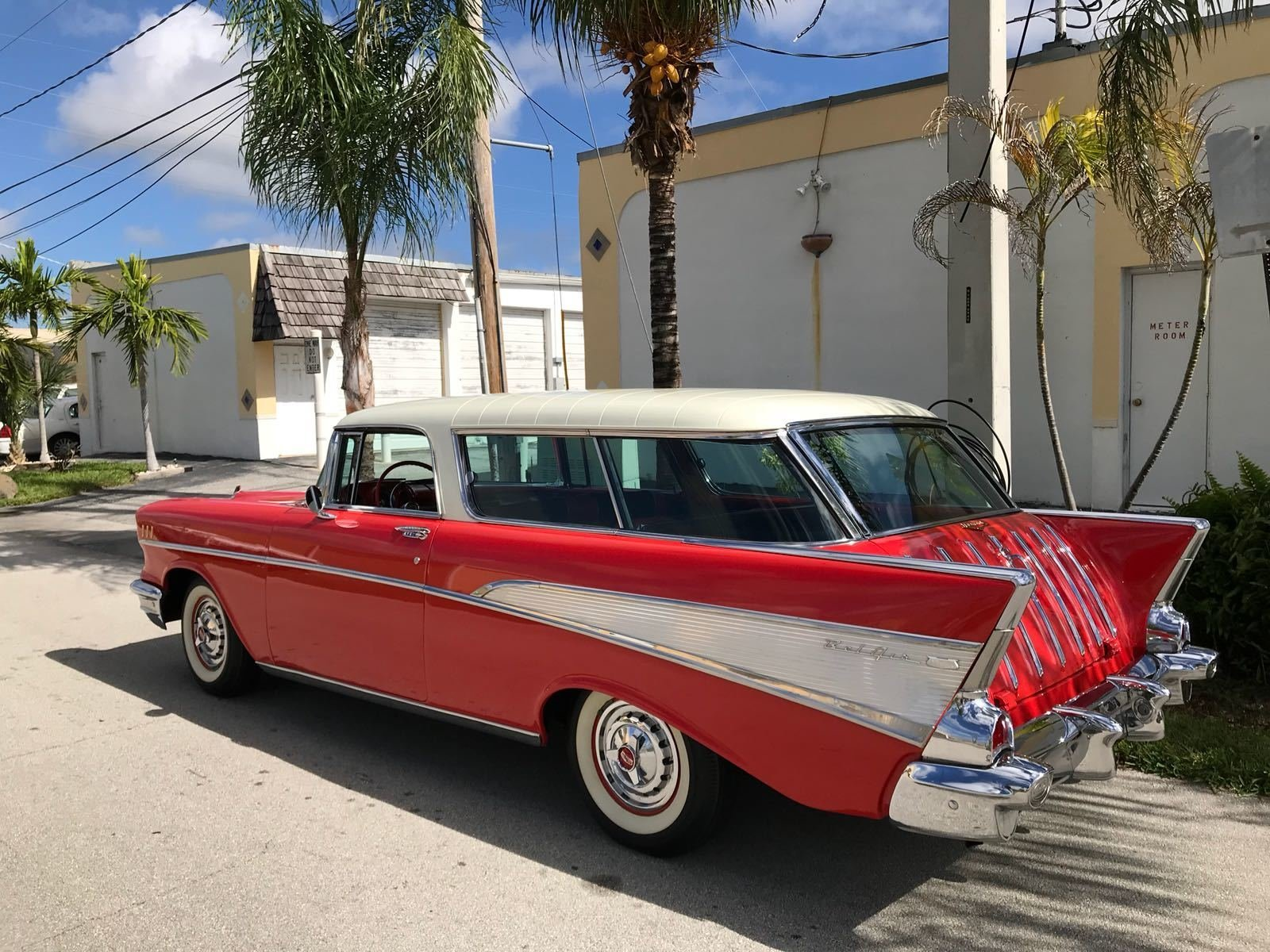 1957 Chevrolet Nomad Station Wagon For Sale 105484 Mcg Chevy