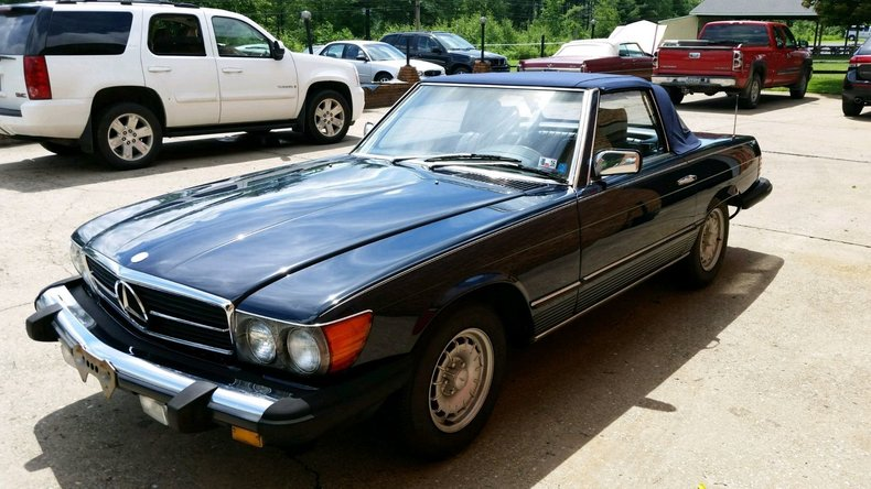 1984 Mercedes-Benz 380SL For Sale