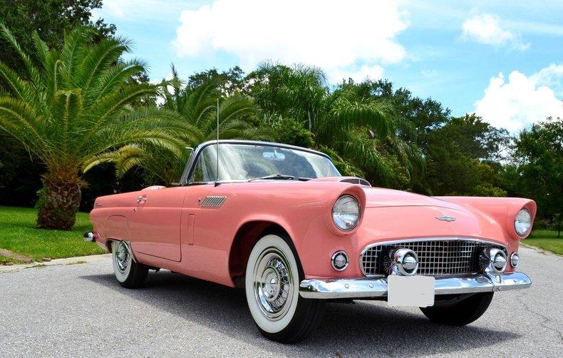 1956 Ford Thunderbird Premier Auction