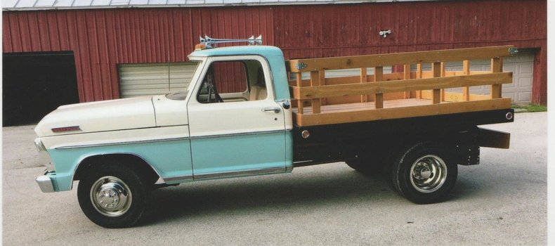 1967 Ford 1 Ton Flatbed