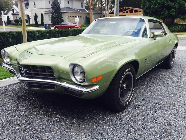 1972 Chevrolet Camaro Premier Auction